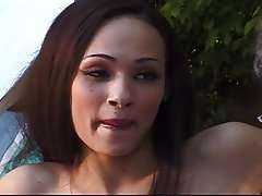 Cunnilingus, MILF, Old and Young, Outdoor, Skinny