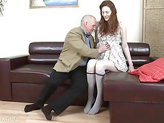 Ass Licking, Blowjob, Cumshot, Old and Young