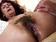Hairy, Granny, Lesbian, Mature, Old and Young