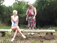Babe, Blonde, Old and Young, Outdoor