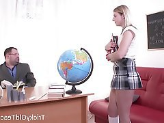 Blowjob, Hardcore, Russian, Teacher, Teen