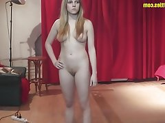 Amateur, Blonde, Casting, POV, Teen