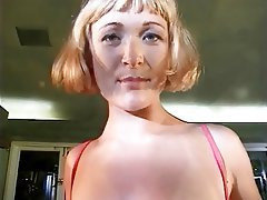 Masturbation, Blonde, MILF