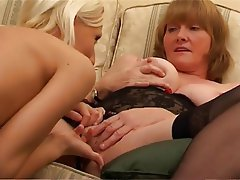 British, Lesbian, Mature, MILF, Old and Young