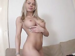 Babe, Big Boobs, Blonde, Casting, Czech