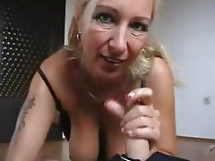 Old and Young, Blowjob, German, Big Boobs